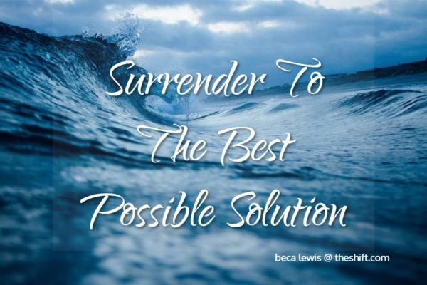 SurrenderToTheBestPossibleSolution